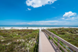 The beaches of St. Augustine